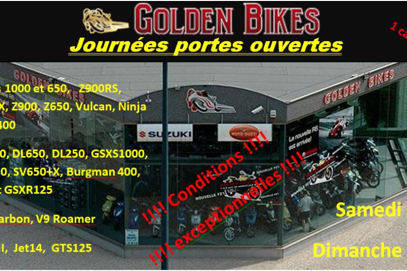 Journées portes ouvertes chez Golden Bikes