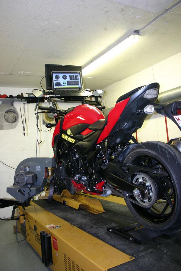 Atelier entretien et r paration de motos et scooters - Banc de puissance moto occasion ...