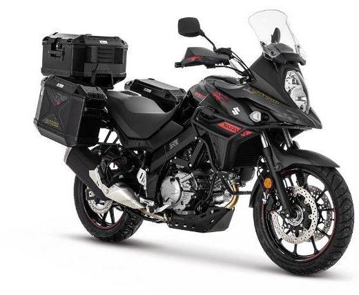 Suzuki V-Strom DL650 Black Edition en vente chez Golden Bikes