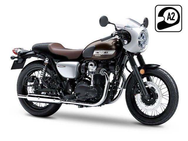 Kawasaki W800 Cafe A2 en vente chez Golden Bikes
