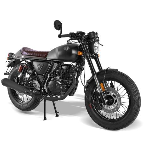 Archive Cafe Racer Noir mat AM60 en vente chez Golden Bikes