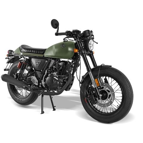 Archive Cafe Racer Olive AM60 en vente chez Golden Bikes