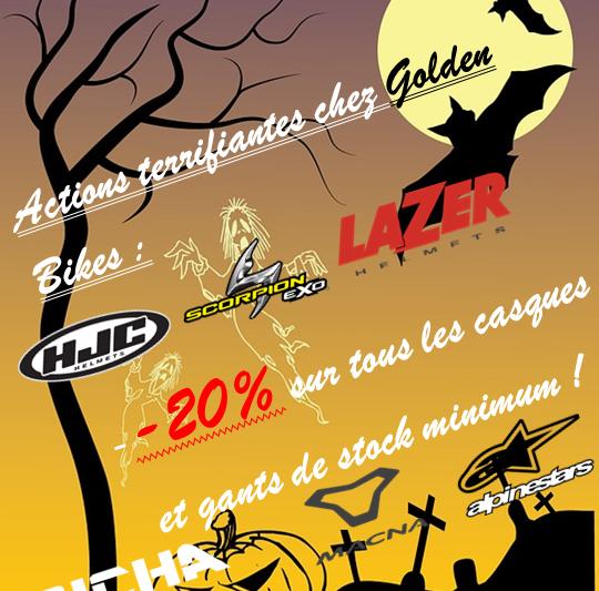 Action Halloween chez Golden Bikes