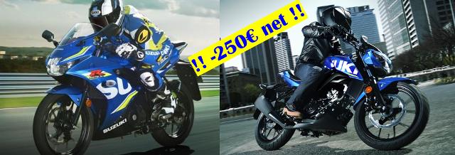 Promotion Suzuki chez Golden Bikes