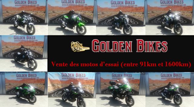 Moto d'essai en vente chez Golden Bikes