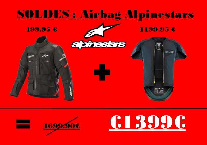 Soldes Alpinestars chez Golden Bikes